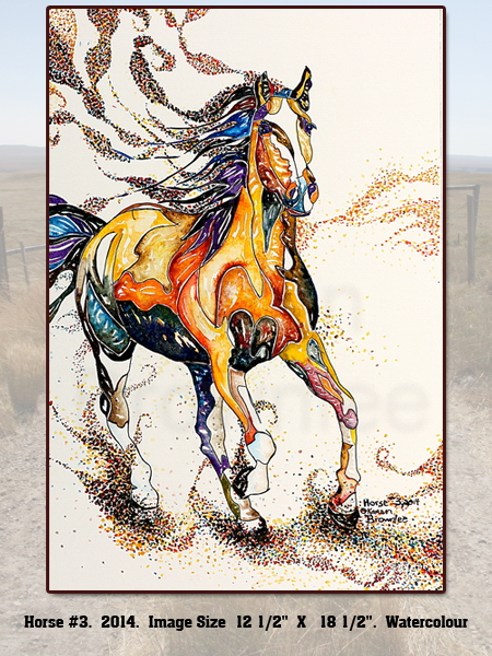 Horse Painting #3 2014