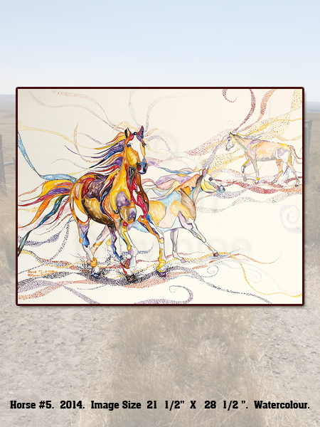 Horse Painting #5