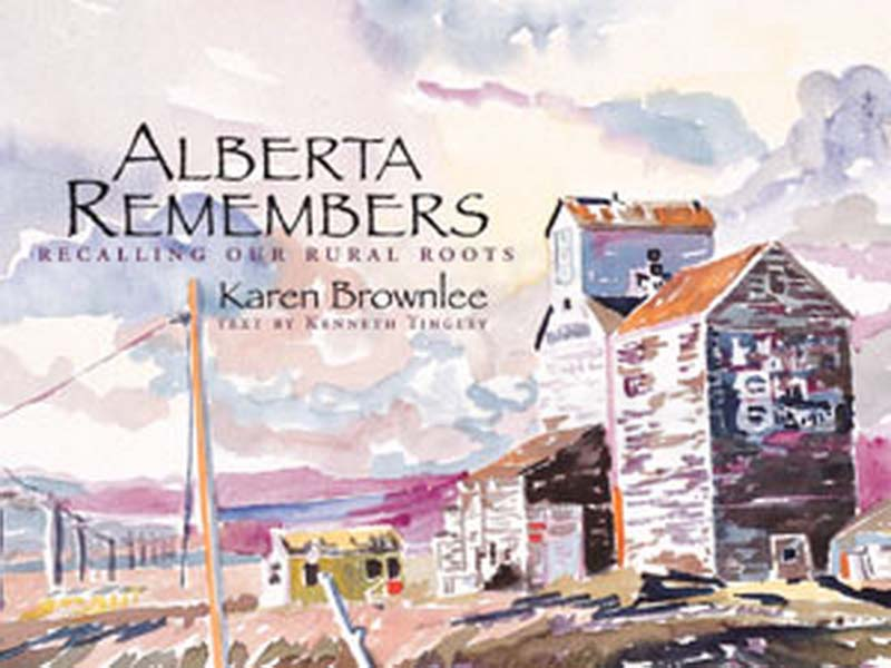 Alberta Remembers Book Cover