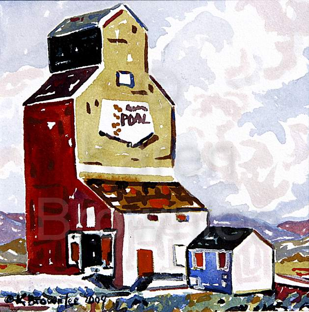 Rural Prairie communities. Alberta Icon 13